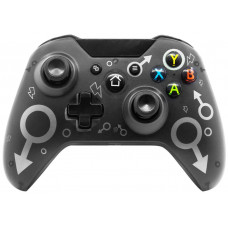 Беспроводной геймпад Controller Wireless N-1 2.4G (Black) (Xbox One / PS3 / PC)