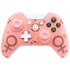 Беспроводной геймпад Controller Wireless N-1 2.4G (Pink)  (Xbox One / PS3 / PC)