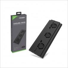 Вертикальная подставка с охлаждением Dobe Cooling Dock для Xbox One X (TYX-1768)