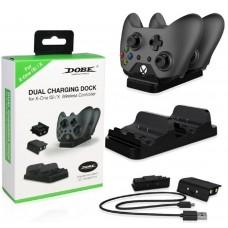 Зарядная станция + 2 аккумулятора Dobe Dual Charging Dock (TYX-532) (Xbox One)