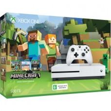 Игровая приставка Microsoft Xbox One S 500 ГБ Minecraft Edition