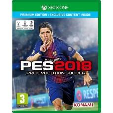 Pro Evolution Soccer 2018 (PES18) (русские субтитры) (XboxOne / Series)