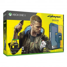 Игровая приставка Microsoft Xbox One X Cyberpunk 2077 Limited Edition