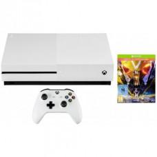 Игровая приставка Microsoft Xbox One S 1 ТБ + Игра Anthem