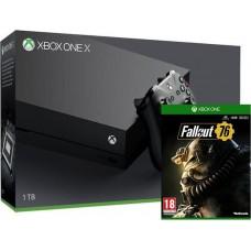 Игровая приставка Microsoft Xbox One X 1ТБ + Fallout 76