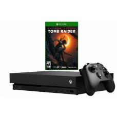 Игровая приставка Microsoft Xbox One X 1ТБ + Shadow of The Tomb Raider