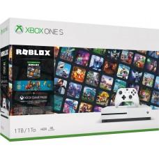 Игровая приставка Microsoft Xbox One S 1 ТБ  + Игра Roblox