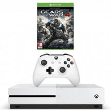 Игровая приставка Microsoft Xbox One S 500 ГБ + Gears of War 4