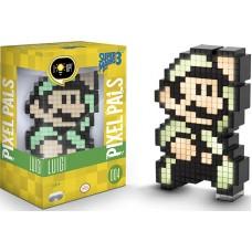 Светящаяся фигурка Pixel Pals: Super Mario 3 Bros.: Luigi