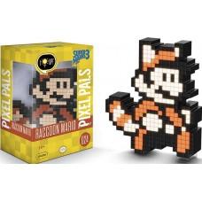 Светящаяся фигурка Pixel Pals: Super Mario 3 Bros.: Raccoon Mario