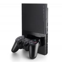 Игровая приставка Sony PlayStation 2 Slim (SCPH-90004) (черная)