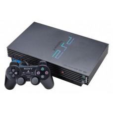 Игровая приставка Sony PlayStation 2 (SCPH-3004) (черная)