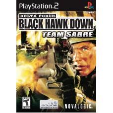 Delta Force: Black Hawk Down Team Sabre (PS2)