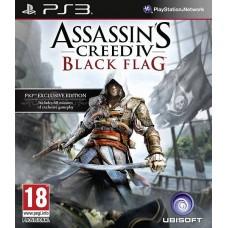 Assassin's Creed IV (4): Чёрный флаг (Black Flag) (Русская версия) (PS3)
