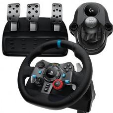 Руль Logitech G29 + коробка передач Driving Force Shifter