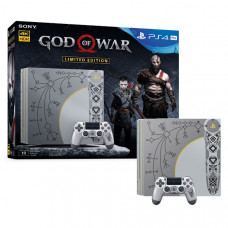 Игровая приставка Sony PlayStation 4 Pro 1 ТБ + God of War Limited Edition