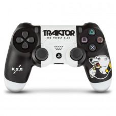 Беспроводной геймпад Sony Dualshock 4 КХЛ Трактор