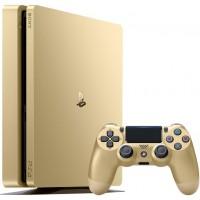Игровая приставка Sony PlayStation 4 Slim 1 ТБ Золотая (Gold) (CUH-2016B)