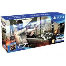 Bravo Team + Контроллер прицеливания PlayStation VR (PS4)
