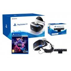 Шлем виртуальной реальности Sony PlayStation VR V2 (CUH-ZVR2) + Camera VR + VR World