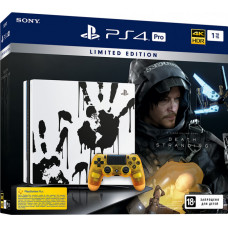 Игровая приставка Sony PlayStation 4 Pro 1 ТБ (CUH-7208B) Death Stranding Limited Edition