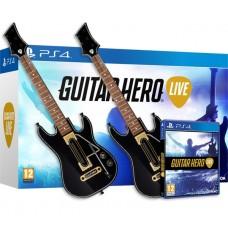 Guitar Hero Live: 2 Guitar Bandle (2 Гитары + игра) (PS4)