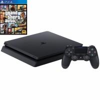 Игровая приставка Sony PlayStation 4 Slim 500 ГБ (Black) + GTA V