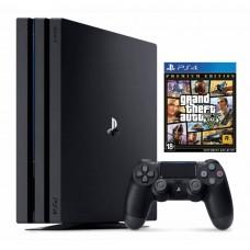 Игровая приставка Sony PlayStation 4 Pro 1 ТБ + GTA V