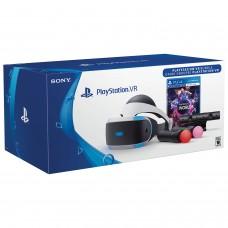 Шлем виртуальной реальности Playstation VR + PS4 Move + Camera + Игра