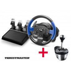 Руль Thrustmaster T150 Pro Force Feedback + коробка передач TH8A