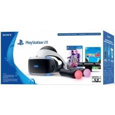 Шлем виртуальной реальности Playstation VR + PS4 Move + Camera + 2 Игры