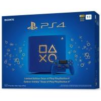 """Игровая приставка Sony PlayStation 4 Slim 1 ТБ """"Время играть"""""""