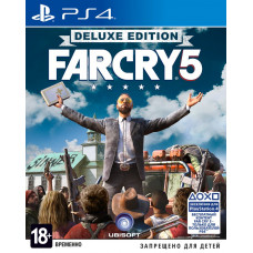 Far Cry 5 Deluxe Edition (Русская версия) (PS4)