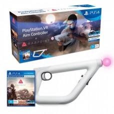 Farpoint (русская версия) + Контроллер прицеливания PlayStation VR (PS4)