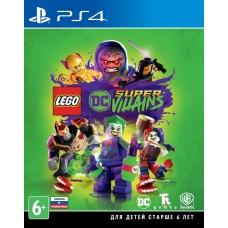 Lego DC Super-Villains (русские субтитры) (PS4)
