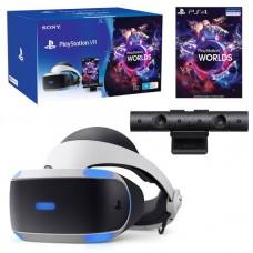 Шлем виртуальной реальности Sony PlayStation VR + Camera VR + VR World