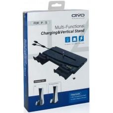 Вертикальная подставка OIVO Multi-Functional Charging Stand (IV-P5238) (PS5)