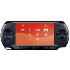 Игровая приставка Sony PlayStation Portable E1000 Черная