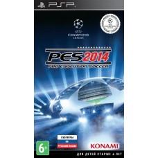 Pro Evolution Soccer 2014 (русские субтитры) (PSP)