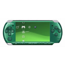 Игровая приставка Sony Playstation Portable (PSP) Slim&Lite 3000 Зеленая