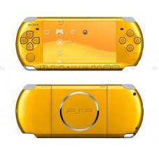 Игровая приставка Sony Playstation Portable (PSP) Slim&Lite 3000 Желтая
