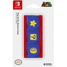Кейс Hori (Mario) для хранения 6 игровых карт для консоли Nintendo Switch (NSW-106U)