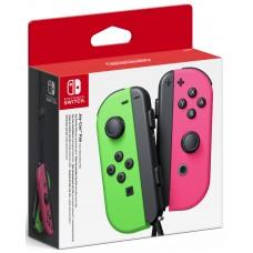Джойстики Joy-Con (неоновый зеленый / неоновый розовый) (Nintendo Switch)