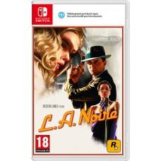 L.A. Noire (русская версия) (Nintendo Switch)