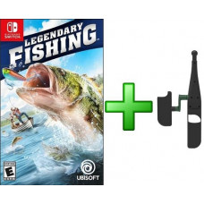 Legendary Fishing + Удочка (Nintendo Switch)