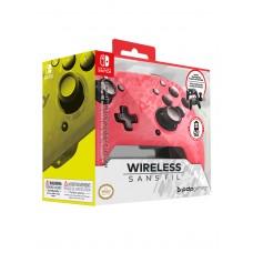 Беспроводной контроллер Faceoff Pink Camo для Nintendo Switch
