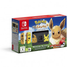 Игровая приставка Nintendo Switch Pikachu & Eevee Edition + Let's Go, Eevee!