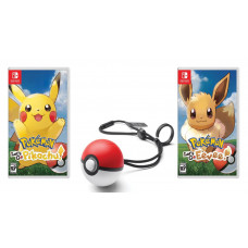 Pokemon: Let's Go, Eevee! + Pokemon: Let's Go, Pikachu! + Poke Ball Plus (Nintendo Switch)