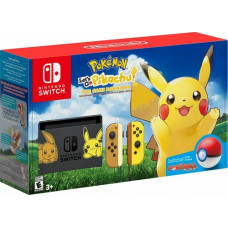 Игровая приставка Nintendo Switch Pikachu & Eevee Edition + Let's Go, Pikachu