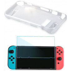 Набор аксессуаров OIVO Crystal Cover Kit 2 в 1 IV-SW036 (Nintendo Switch)